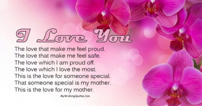 Short Love Messages For Mom
