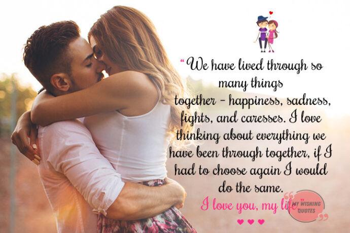 Romantic messages sad love 75 Sad