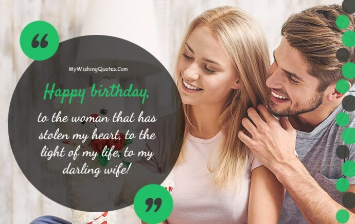 Cutest Birthday Wishes For Wife