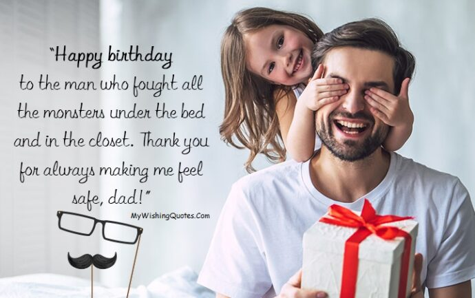 Happy Birthday Dad Wishes