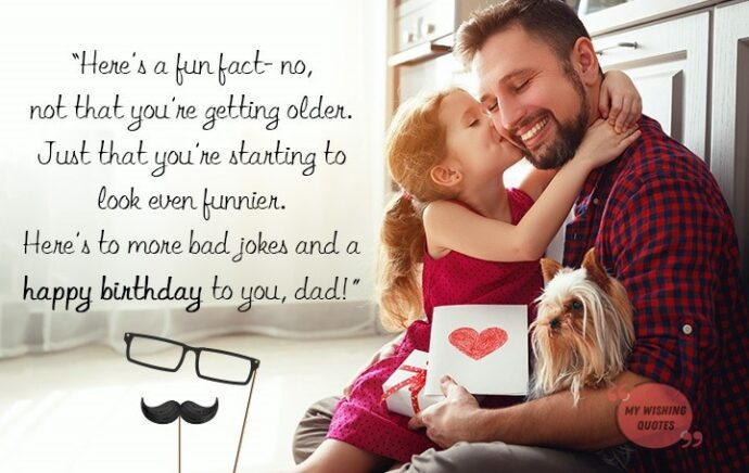 Happy Birthday Father Quotes