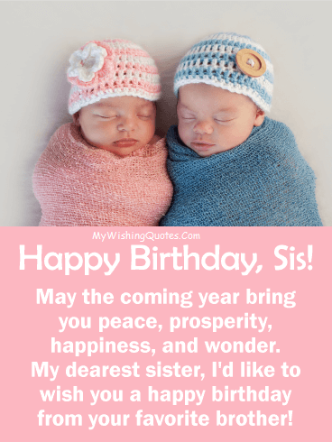 Marvelous Best Birthday Wishes For Sister Happy Birthday Sister Quotes Funny Birthday Cards Online Inifofree Goldxyz