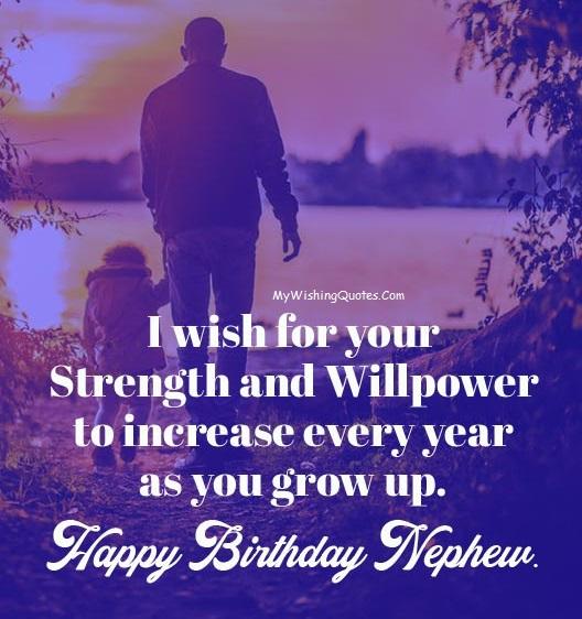 Happy Birthday Messages Nephew