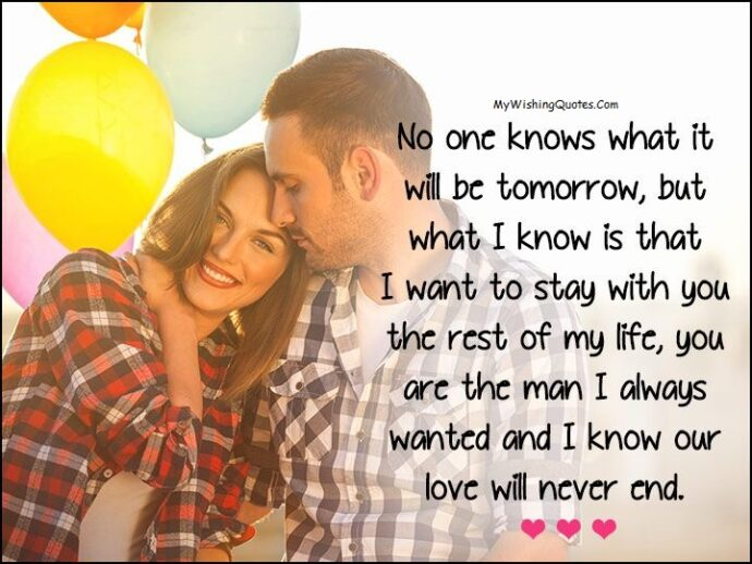 Sweet Love You Messages For Boyfriend