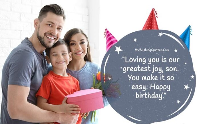 Unique Birthday Messages For Son