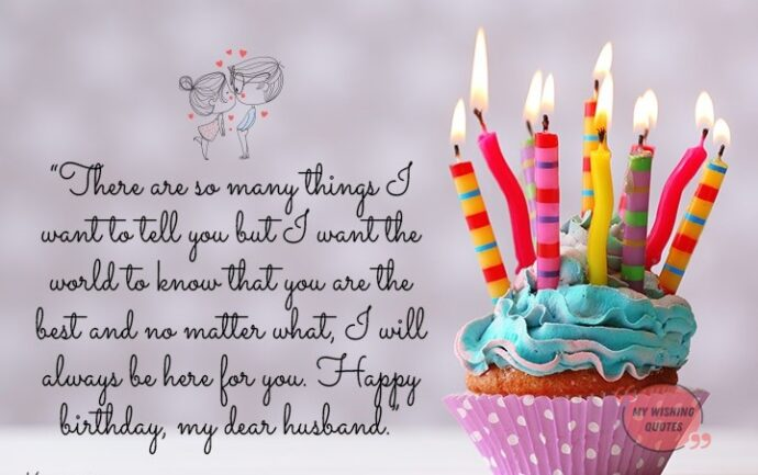 Romantic Birthday Wishes For Husband - Happy Birthday Quotes