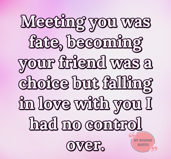Falling in Love Quotes For Someone