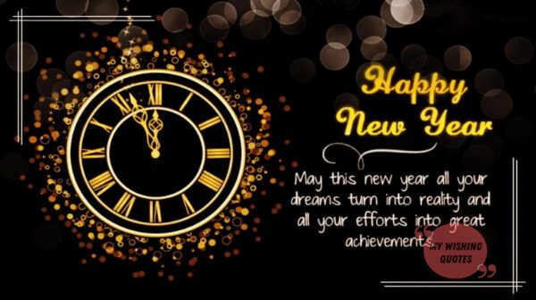 Happy New Year Wishes and Messages