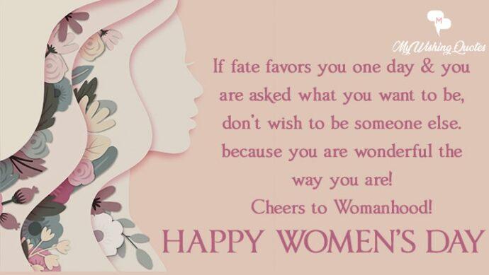 Celebrate International Womens Day
